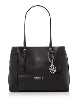 Delaney black medium tote shoulder bag