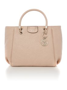 Guess G cube quilt neutral crossbody bag