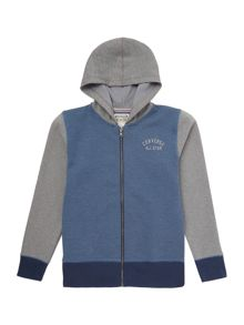 Converse Boys Zip Through Hooded Sweat