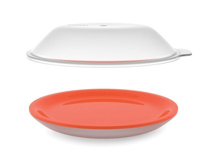 Joseph Joseph M-Cuisine cool-touch microwave plate - Orange