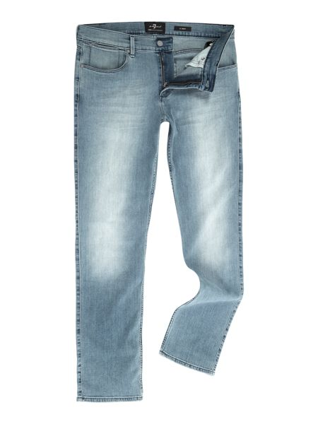7 For All Mankind Slimmy luxe performance superior light jeans
