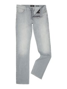 7 For All Mankind Slimmy luxe performance superior light grey jeans