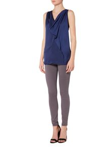 Gray & Willow Clara drape fold top