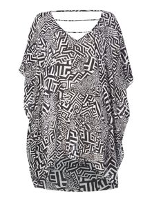 Kenneth Cole Geo Kaftan