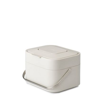 Joseph Joseph Stack 4L Intelligent Waste Compost Caddy Stone