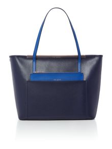 Ted Baker Angella dark blue tote bag