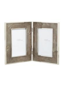 Casa Couture Mother of pearl Hinged frame