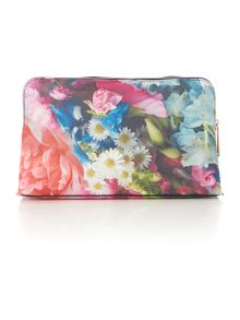 Ted Baker Lileen floral large multicolour cosmetic bag