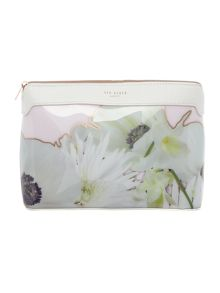 Ted Baker Eloy grey large cosmetic bag