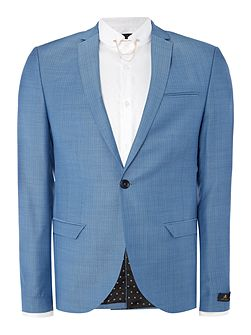 Terrell SB1 notch lapel textured suit jacket