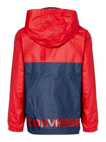 Converse Boys Colour Block Hooded Jacket