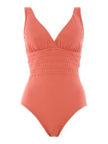 La Blanca Multi strap cross back swimsuit