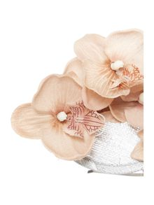 Crown and Glory Lana orchid fascinator