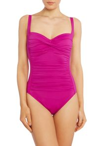La Blanca Sweetheart neck swimsuit
