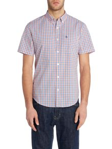 Original Penguin Short sleeve loose tri colour gingham
