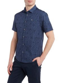 Original Penguin Bandana print decker short sleeve shirt