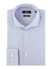 Hugo Boss Slim Jason Outline Stripe Shirt