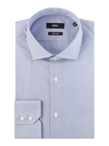 Hugo Boss Gordon Slim Small Gingham Shirt