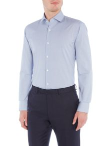 Hugo Boss Gordon Regular Fit Micro Gingham Shirt
