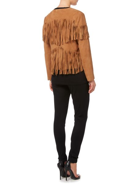 Biba Real suede limited edition tassel jacket