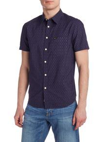 Lee Regular fit slub short sleeve shirt