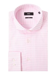 Hugo Boss Jason Slim Gingham Shirt