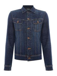 Lee Regular fit dark wash denim rider jacket
