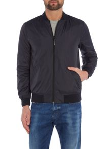 Lee Regular fit zip through baseball bomber jacket