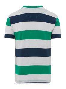 Original Penguin Boys Block Stripe T-shirt
