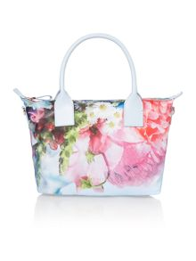 Ted Baker Vlora blue floral small tote bag
