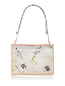 Ted Baker Tasminn grey floral tote bag