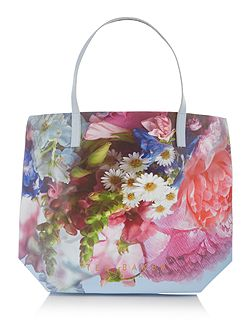 Nellee blue large tote bag