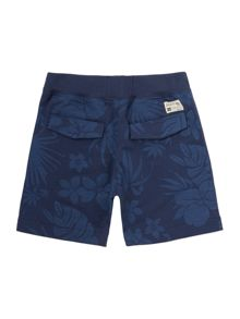 Original Penguin Boys Floral Jersey shorts