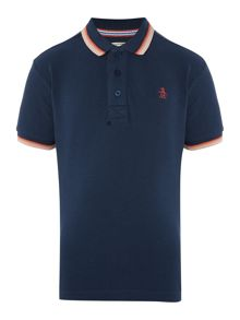Original Penguin Boys Bright Tipped Polo