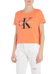 Calvin Klein Short Sleeve Re-issue Logo t-shirt