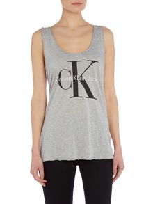 Sleeveless Re-issue Logo tank