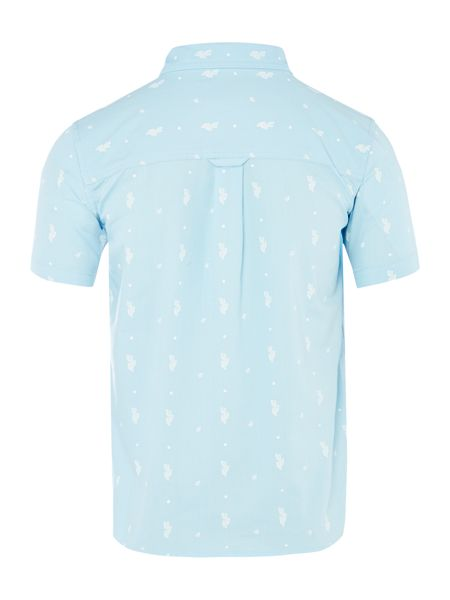 Original Penguin Boys Cactus Print Short Sleeve Shirt