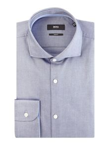 Hugo Boss Jery Slim Oxford Shirt with Contrast Trim