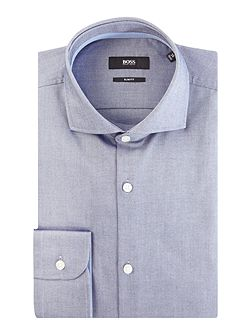 Jery Slim Oxford Shirt with Contrast Trim