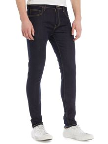 Lee Malone blue cause skinny fit jeans