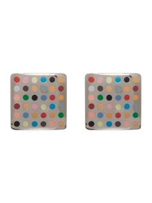 Paul Smith London Multi spot cufflink