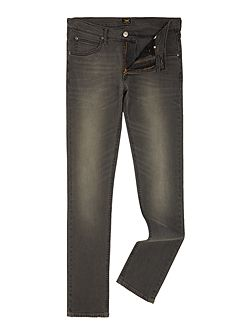 Luke black lead slim tapered fit jeans
