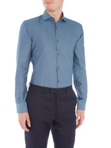 Hugo Boss Slim Jason Mini Textured Shirt