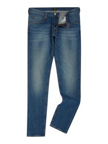 Lee Luke authentic blue slim tapered fit jeans