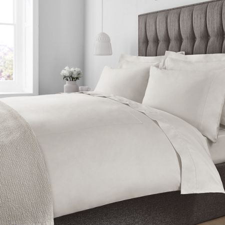 Luxury Hotel Collection 800 TC egyptian cotton oxford pillowcase pair