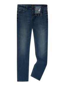 Lee Powell blue legacy low rise slim fit jeans