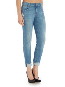 7 For All Mankind Relaxed skinny jean in nashville mid