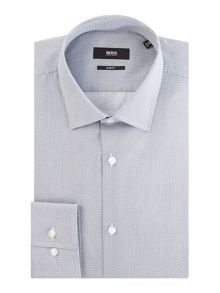 Hugo Boss Jenno Slim Printed Mini Geo Design Shirt