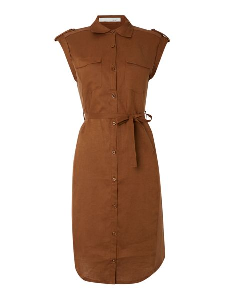 Oui Jersey Shirt Dress
