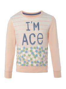 Original Penguin Girls I`m Ace Sweater